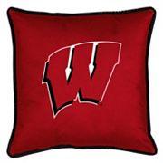 Wisconsin Badgers Decorative Pillow