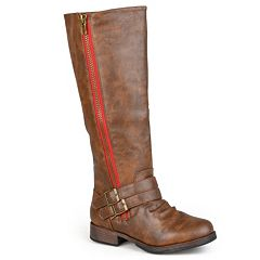 42c1016a796d Womens Journee Collection Wide Calf Boots - Shoes