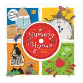Kate Toms Nursery Rhymes Book and CD Set