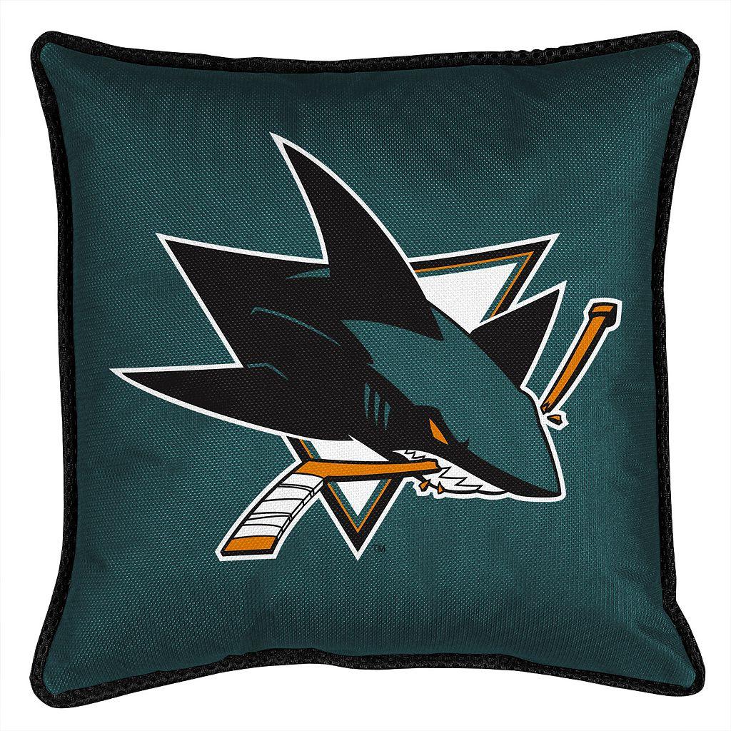 San Jose Sharks Decorative Pillow