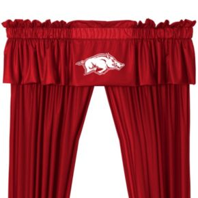 "Arkansas Razorbacks Window Valance - 14"" x 88"""