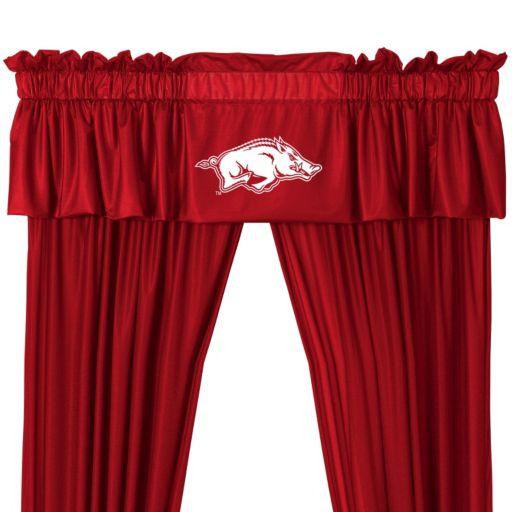 "Arkansas Razorbacks Window Valance - 14"" x 88"""