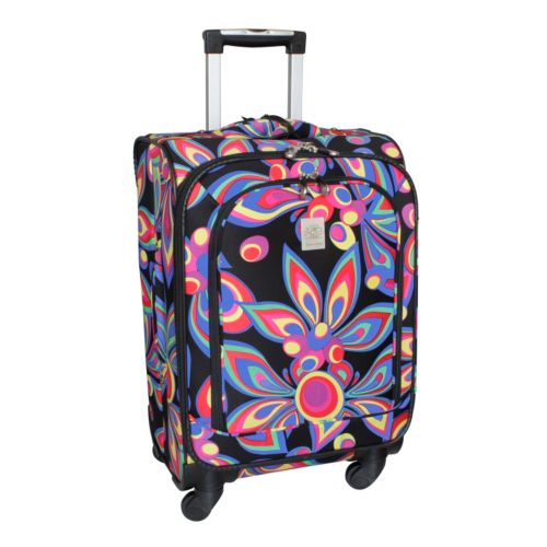 Jenni Chan Luggage, Wild Flower 360 Quattro 21-in. Spinner Carry-On
