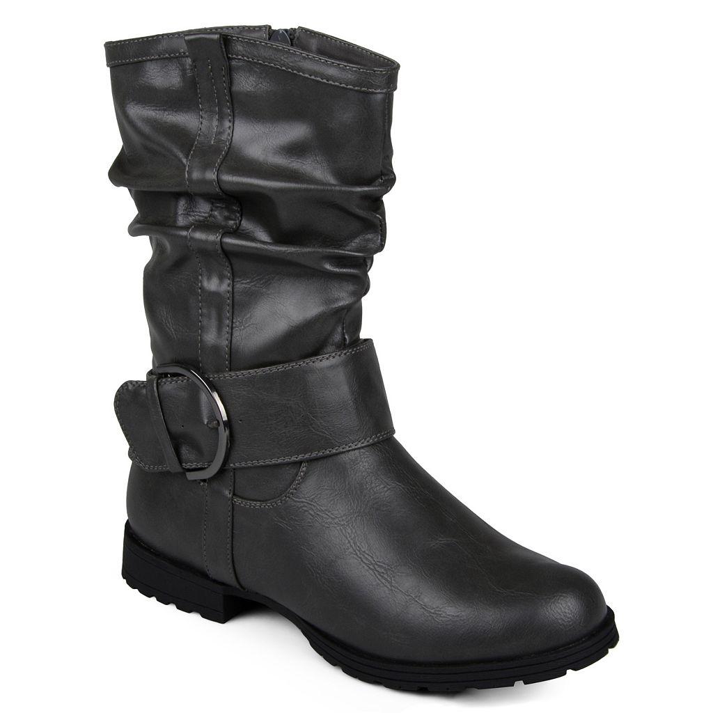 Journee Collection Keli Women's Slouch Midcalf Boots