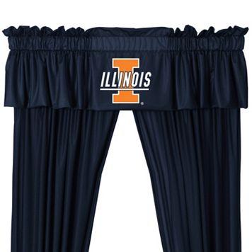 Illinois Fighting Illini Window Valance - 14