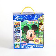 Disney Modern Electronic Me Reader & Books Set