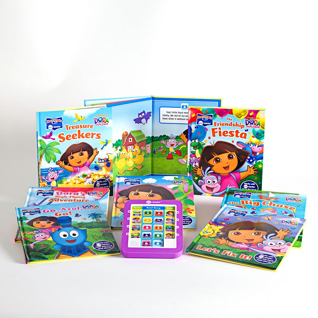 Dora the Explorer Electronic Me Reader and Books Set