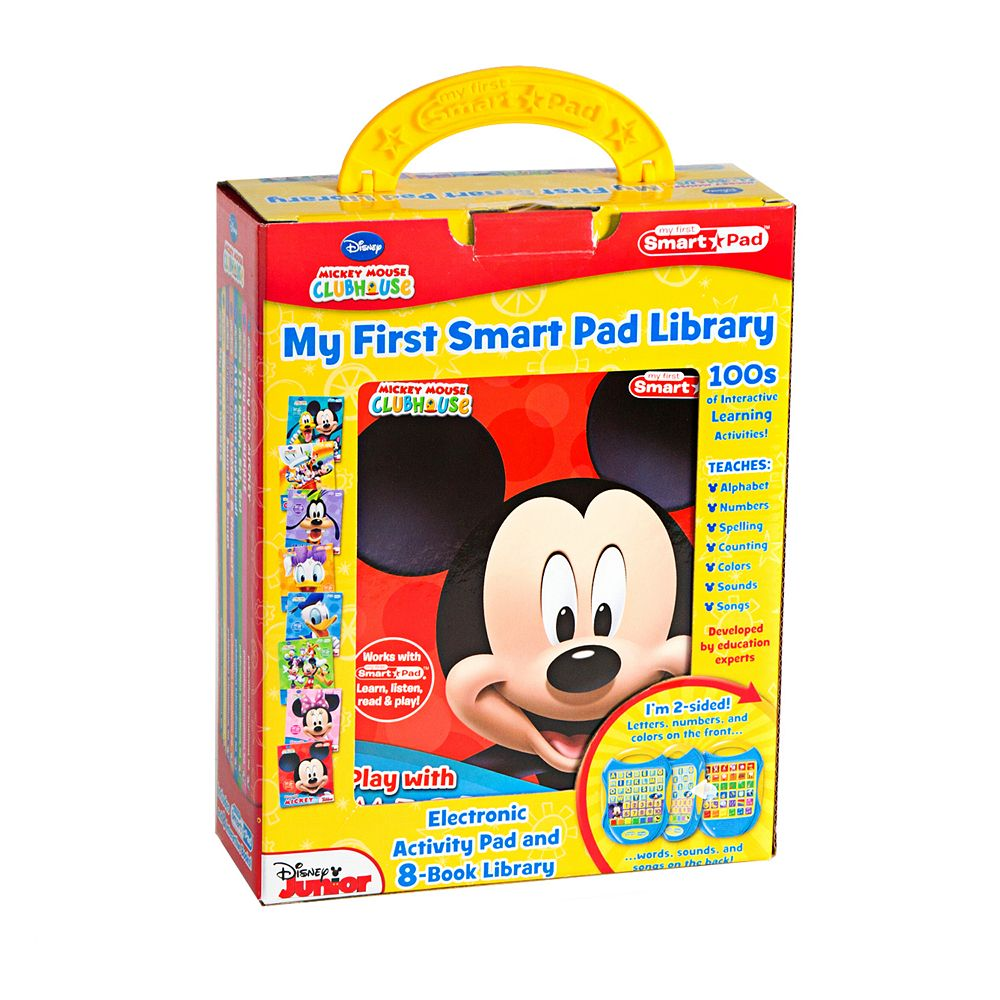Disney Junior Mickey Mouse Clubhouse My First Smart Pad & Books Set
