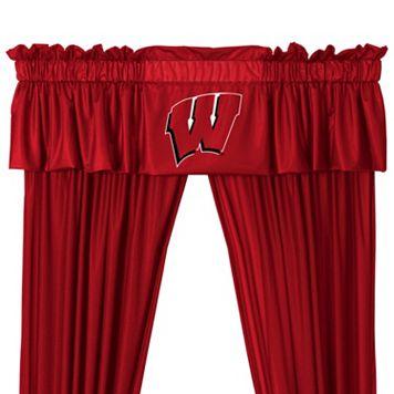 Wisconsin Badgers Window Valance - 14