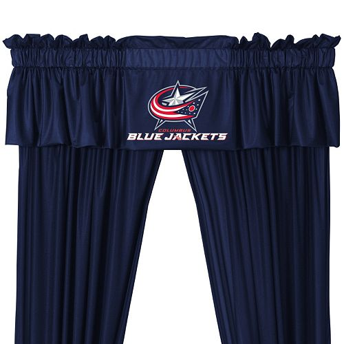 Columbus Blue Jackets Window Valance - 14