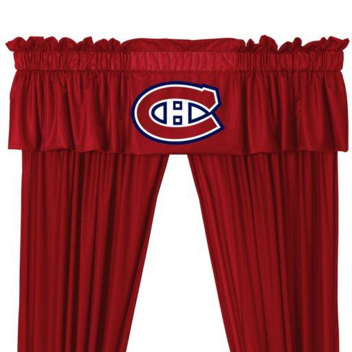 "Montreal Canadiens Window Valance - 14"" x 88"""