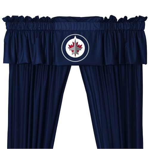 "Winnipeg Jets Window Valance - 14"" x 88"""