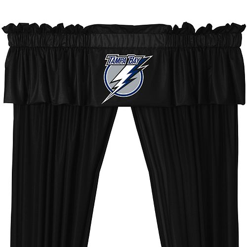 "Tampa Bay Lightning Window Valance - 14"" x 88"""