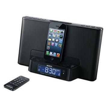 Sony Lightning Dual Alarm Clock Radio & Charging Dock