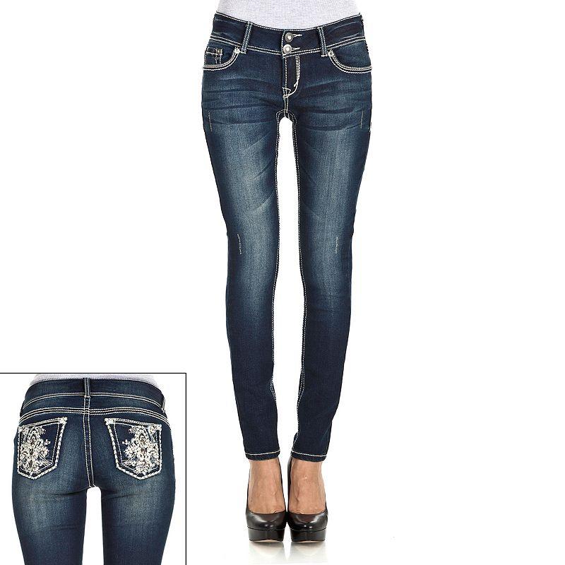 Wallflower Curvy Skinny Jeans - Juniors
