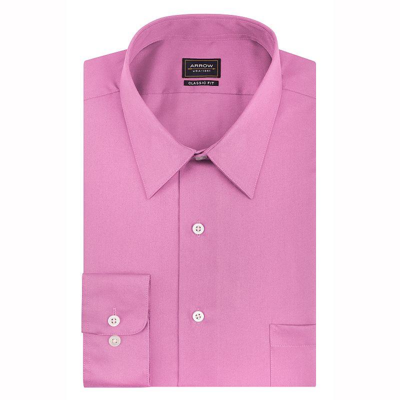Cotton blend dress shirt kohl 39 s for 17 33 shirt size