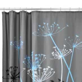 Thistle Fabric Shower Curtain