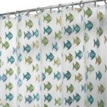 Fishy PEVA Shower Curtain