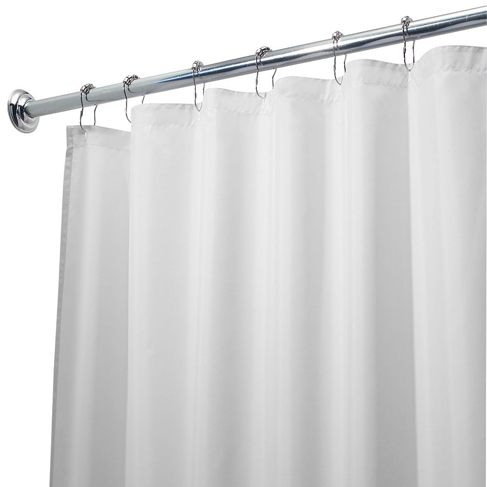 White fabric shower curtain - Waterproof Fabric Shower Curtain Liner 72 X 72