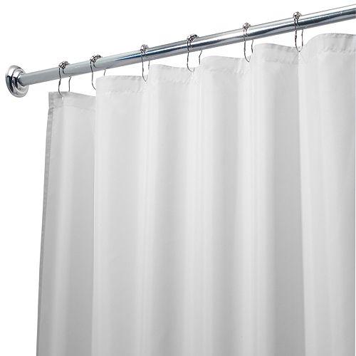Waterproof Fabric Shower Curtain Liner - 72'' x 72''