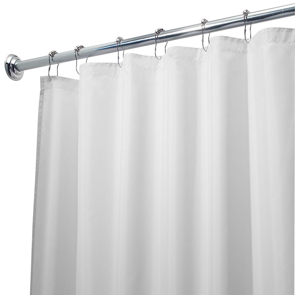 Waterproof Fabric Shower Curtain Liner - 72'' x 96''