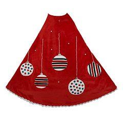 Kurt Adler 48-in. Ornament Christmas Tree Skirt