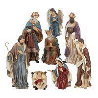 Kurt S. Adler 8-pc. Nativity Scene Christmas Decor