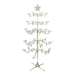 Kurt S. Adler 2-pc. 7-ft. Revolving Metal Christmas Tree Set