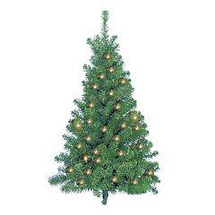 Kurt Adler 4-ft. Pre-Lit Norway Pine Artificial Christmas Tree