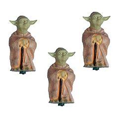 Kurt Adler 10-Light Star Wars Yoda Christmas Light Set
