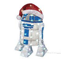 Kurt S. Adler 50-Light R2D2 Christmas Decor