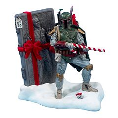 Kurt Adler Star Wars Boba Fett Christmas Tablepiece