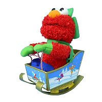 Kurt Adler 10-in. Sesame Street Singing Animated Christmas Elmo
