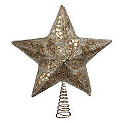 Kurt Adler Glitter Star Tree Topper