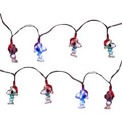 Kurt Adler 15-Light LED Peanuts Snoopy Miniature Christmas Light Set