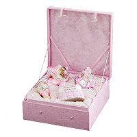 Kurt Adler Noble Gems 4-pc. Baby Girl Christmas Ornament Set
