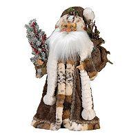 Kurt S. Adler Jacqueline Kent 18-in. Woodland Standing Santa Christmas Decor