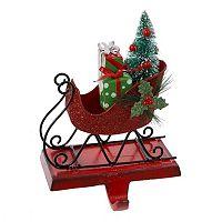 Kurt S. Adler Sleigh Christmas Stocking Holder