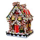 Kurt S. Adler Lighted Candy House Christmas Decor - Indoor