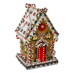 Kurt S. Adler Lighted Cookie and Candy Christmas House Decor - Indoor
