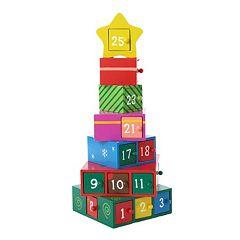 Kurt Adler 13-in. Gift Tree Christmas Advent Calendar