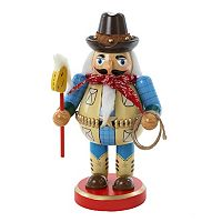 Kurt Adler 10 1/4-in. Chubby Cowboy Christmas Nutcracker