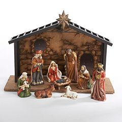 Kurt S. Adler 10-pc. Christmas Nativity Set