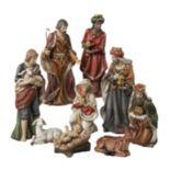 Kurt S. Adler 9-pc. Christmas Nativity Figure Set