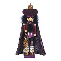 Kurt Adler 18-in. Hollywood Purple King Christmas Nutcracker