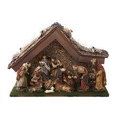 Kurt Adler Christmas Nativity Scene