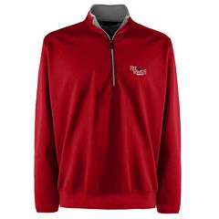 Men's Arkansas State Red Wolves 1/4-Zip Leader Pullover