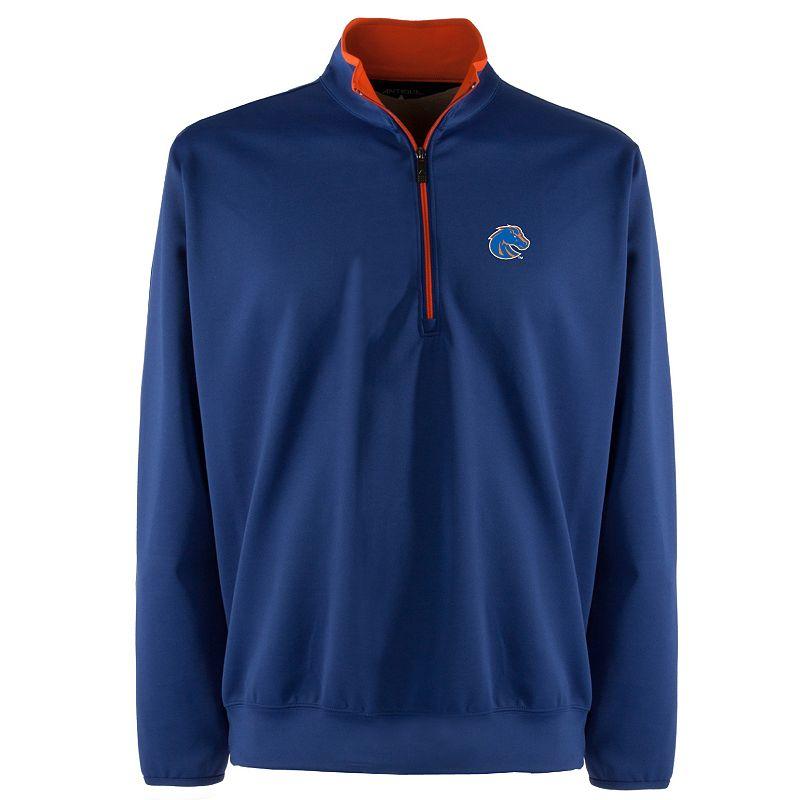 Boise State Broncos 1/4-Zip Leader Pullover - Men (Blue)