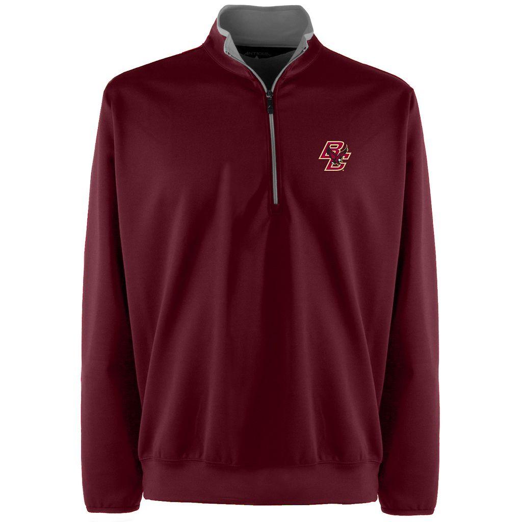 Men's Boston College Eagles 1/4-Zip Leader Pullover