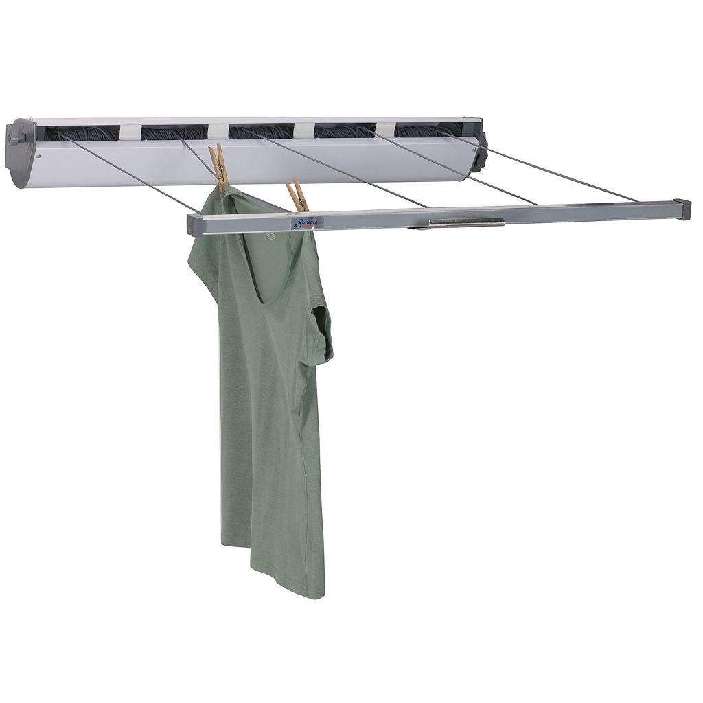 Household Essentials Retractable Indoor Outdoor Clothes Drying Rack
